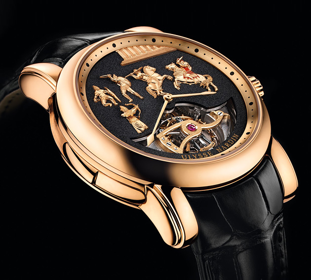 Ulysse Nardin Alexander the Great Westminster Carillon Tourbillon Jaquemarts Minute Repeater