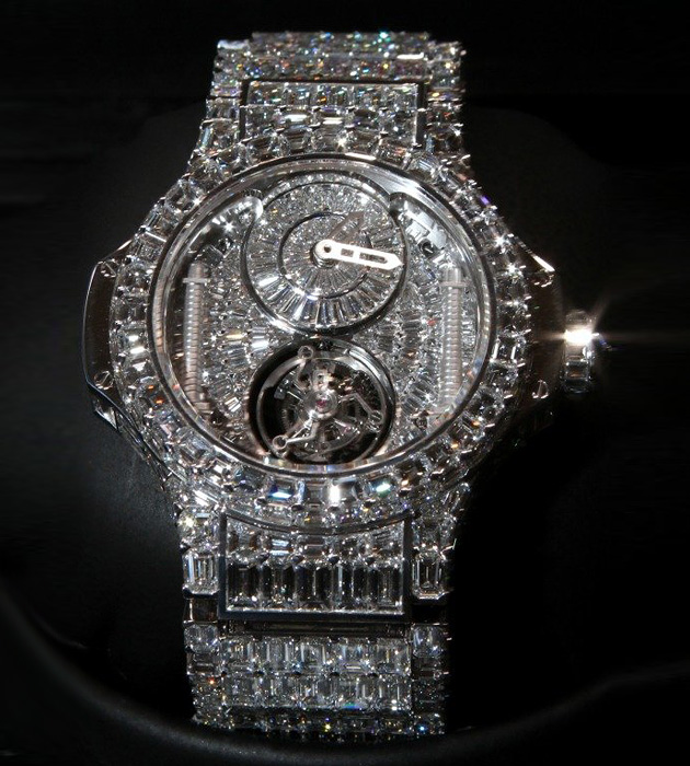 Часы Hublot Big Bang, Baselworld 2011