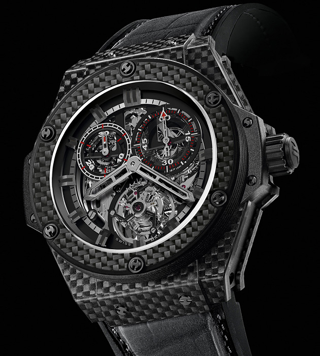 Часы Hublot King Power Carbon Fiber Cathedral, Baselworld 2011