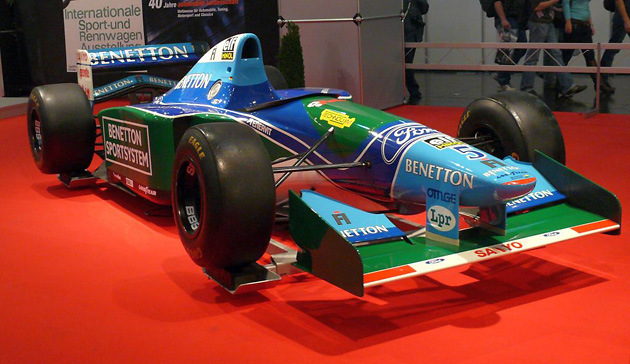 Benetton B194, Михаэль Шумахер, Michael Schumacher, аукционы, авто, Формула 1