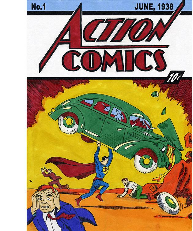 Action Comics 1 выпуск