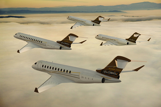 Bombardier Global 7000 и Global 8000
