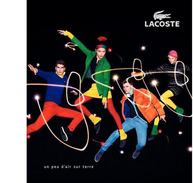 Рекламная кампания Lacoste FW 2010/2011