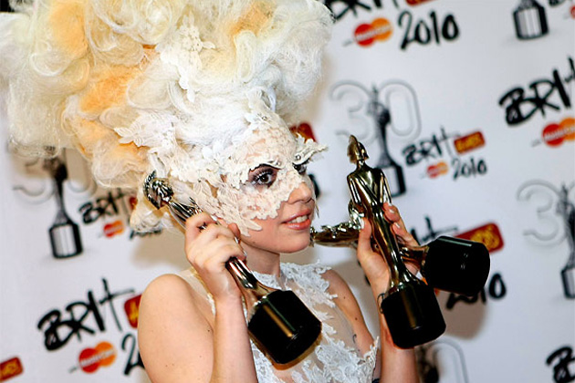 Леди Гага, Lady Gaga, Brit Awards 2010, Brit Awards, премии, музыка