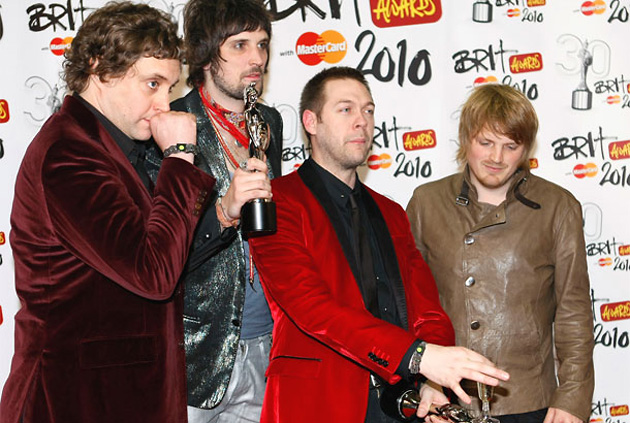Kasabian, Brit Awards 2010, Brit Awards, премии, музыка