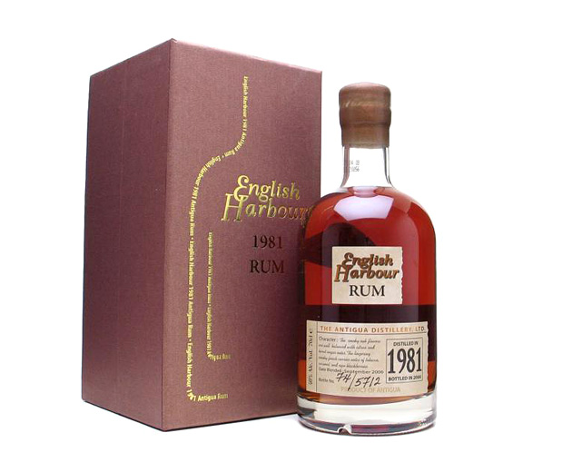 English Harbour 25 Year Old Reserve Rum 1981 Vintage