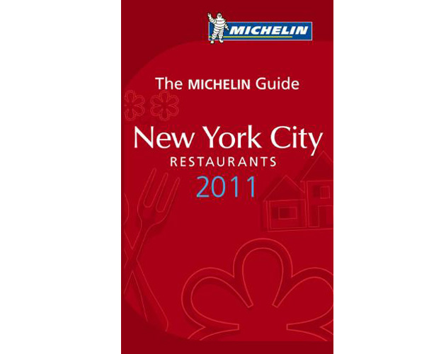 Michelin Guide New York City Restaurants 2011