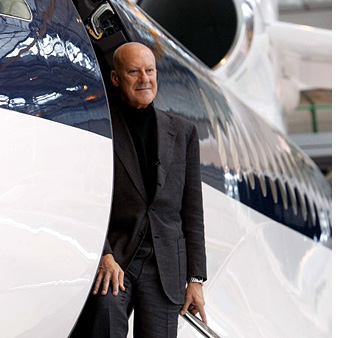 Norman Foster, самолеты, NetJets