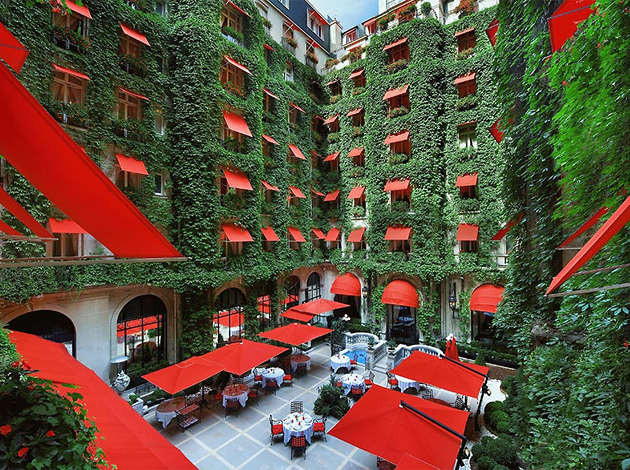 отели, Hotel Plaza Athenee Paris, Франция