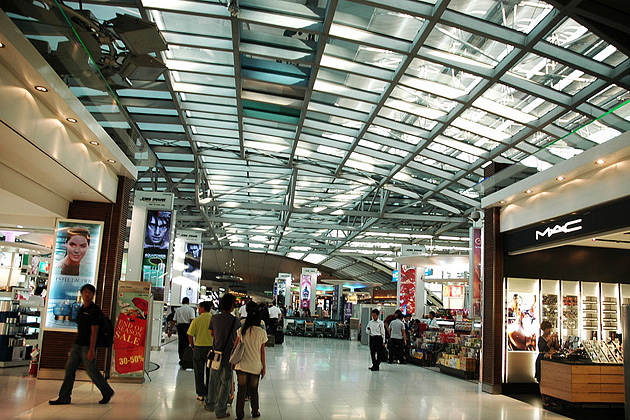 Bangkok Airport Duty Free Shopping, Аэропорт «Суварнабхуми», Бангкок
