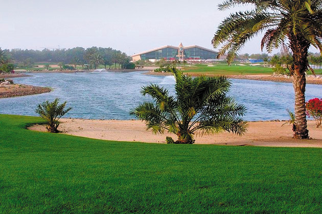 Abu Dhabi Golf Club, Абу-Даби, ОАЭ