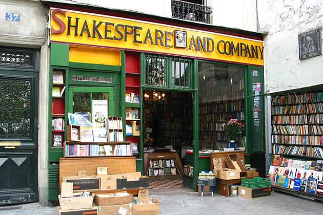 Shakespeare & Company, Париж, Франция