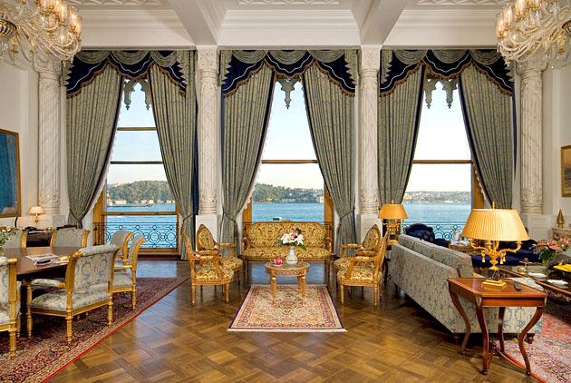 Sultan Suite: Ciragan Palace, Istanbul