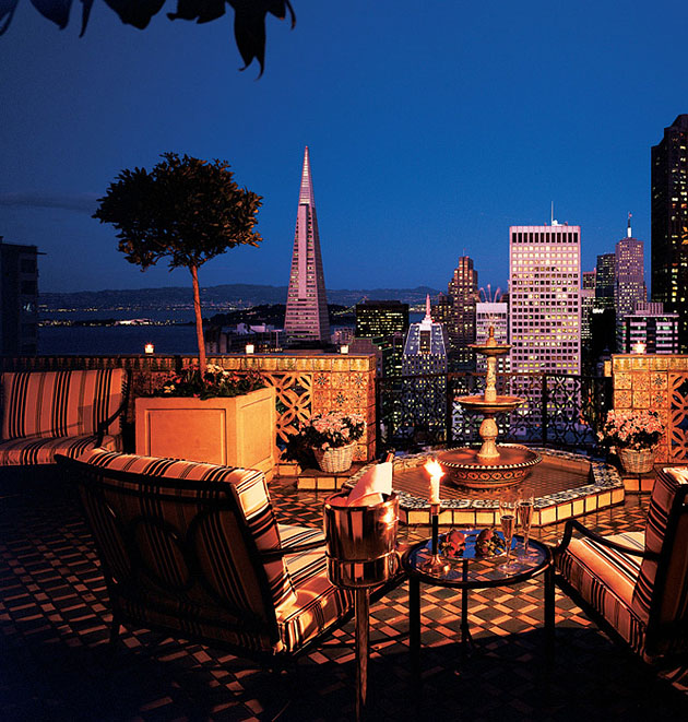 Penthouse Suite: The Fairmont San Francisco