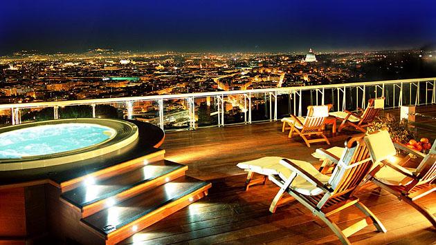 Penthouse Suite: Rome Cavalieri Hotel