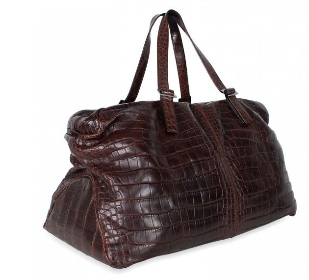 �����, �����, Salvatore Ferragamo, Salvatore Ferragamo Crocodile Zip Luggage