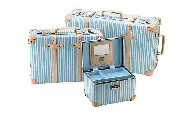 Globe-Trotter Luggage Azure Collection