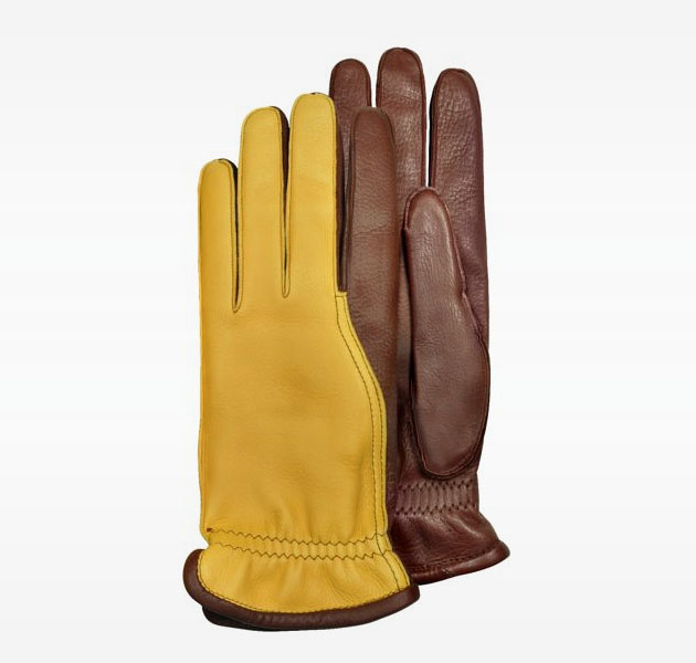 Pineider Deerskin Men Gloves