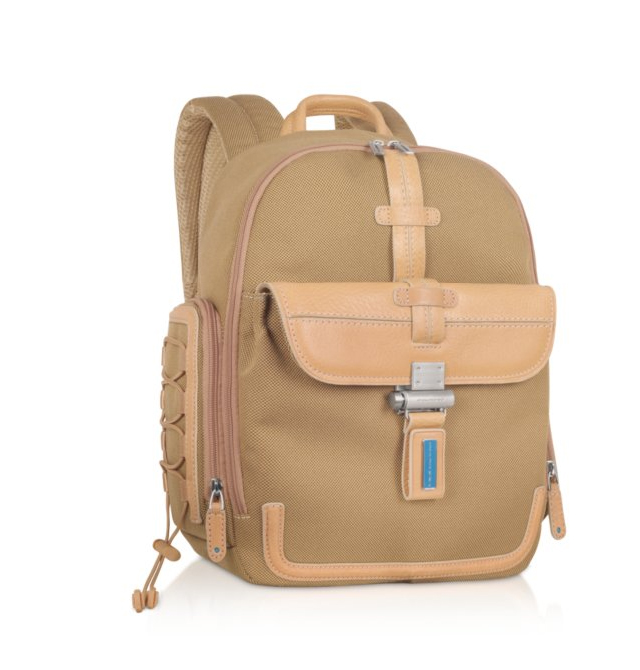 Piquadro Land Backpack Light brown