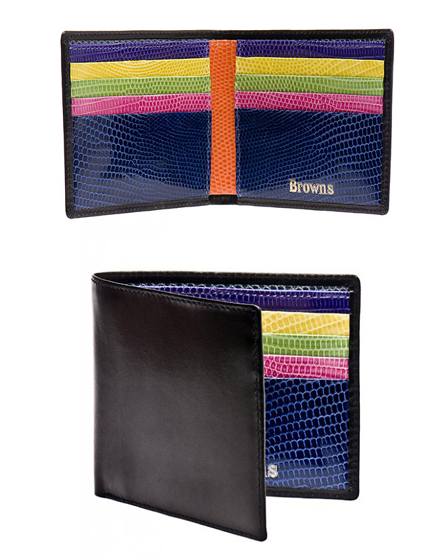 кошельки, Browns, Browns Mainline Multi-colored Wallets