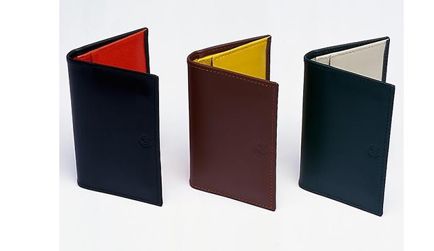 визитницы, Ettinger Folder, Monocle, Ettinger Folder Over Card Case for Monocle
