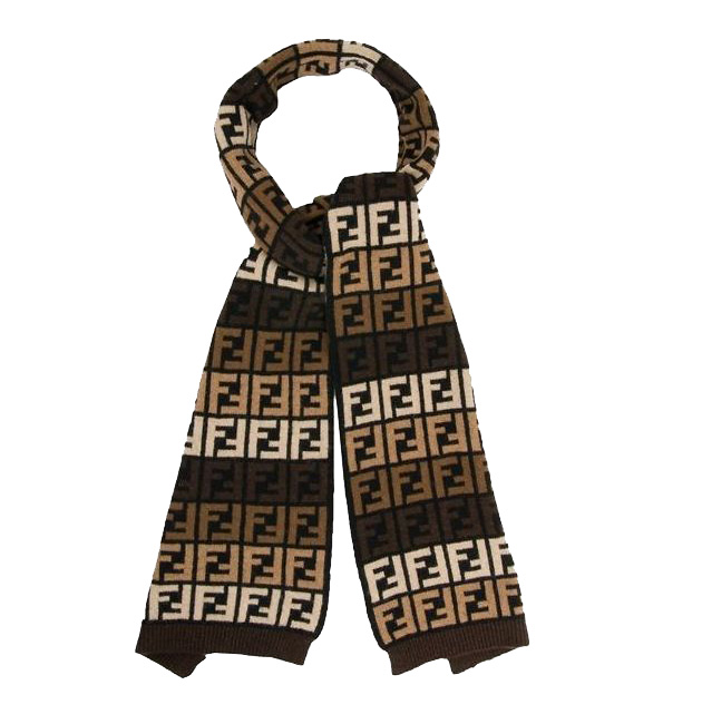 шарфы, Fendi, Fendi Multi Shade Wool Scarf