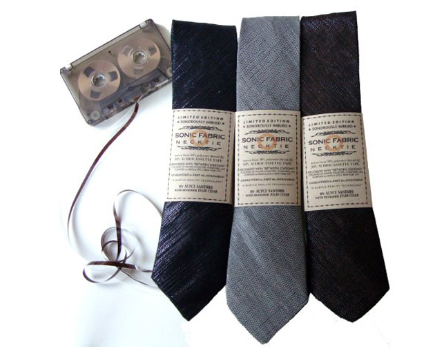 галстуки, Sonic Fabric, Playable Sonic Fabric Neckties