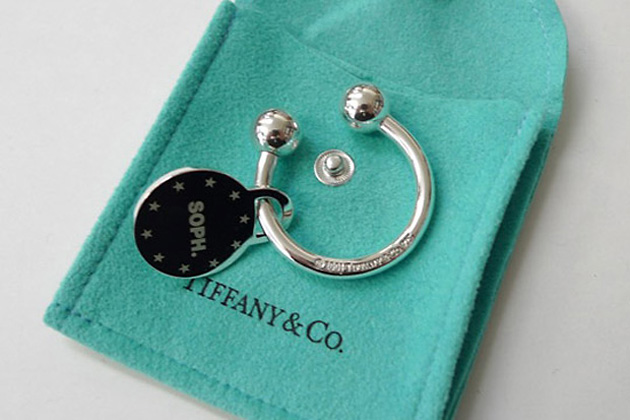 брелки, SOPH., Tiffany & Co., SOPH. & Tiffany 10th Anniversary Keychain