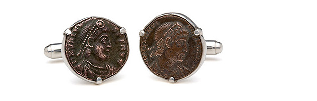 запонки, Tokens & Coins, Tokens & Coins Cufflinks