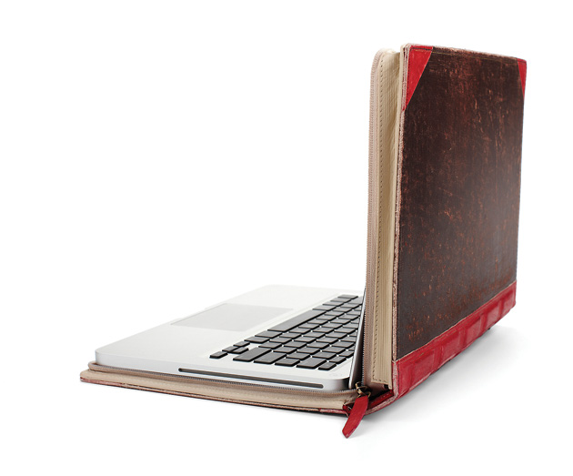 чехлы, аксессуары для гаджетов, MacBook, TwelveSouth, TwelveSouth The BookBook MacBook Cover