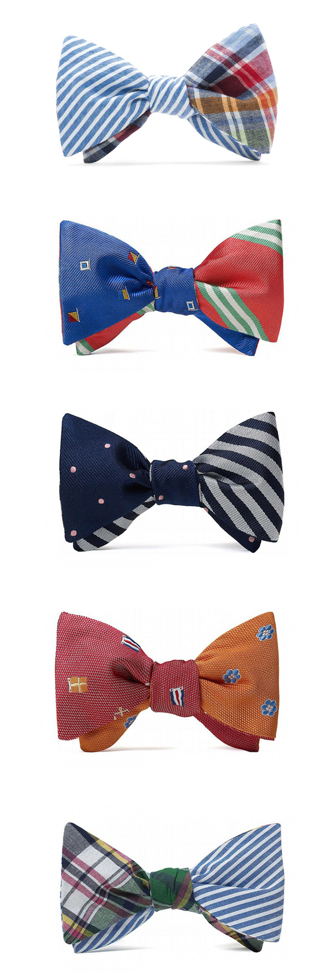 Social Primer for Brooks Brothers Bow SS 2010 Tie Collection