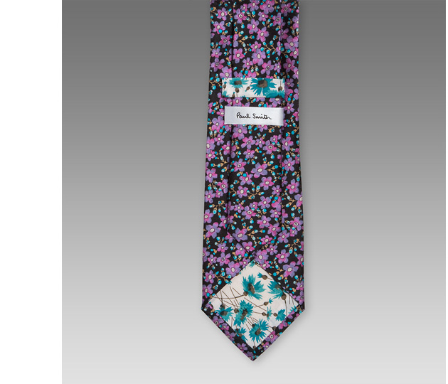 Paul Smith SS 2010 Floral Design Tie