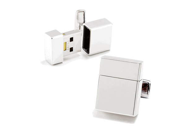 Ravi Ratan USB Flash Drive Cufflinks