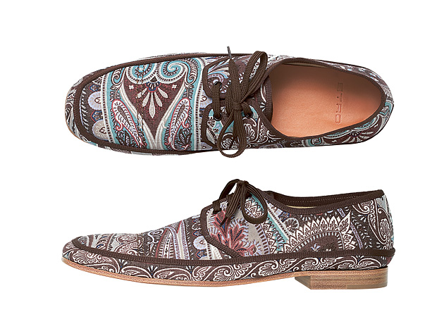 Etro SS 2011 Shoes