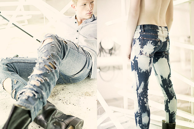 Cheap Monday Destroy Denim Collection, Cheap Monday, джинсы, деним, одежда
