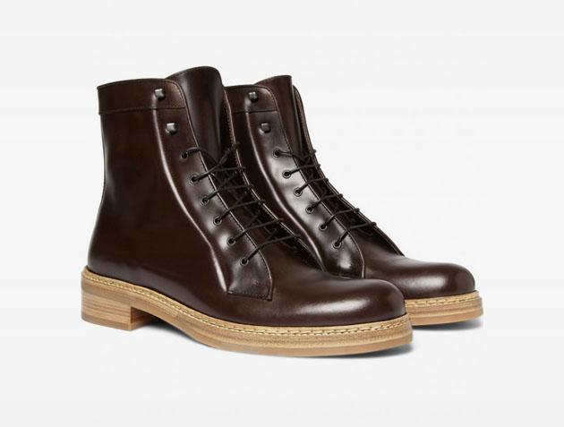 Jil Sander Hermes Classic Leather Boots