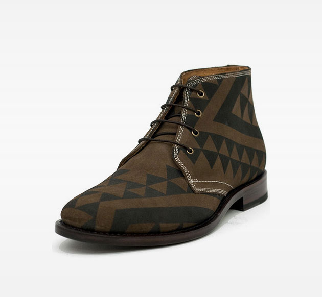 Hetchy Henry Printed Suede Shoes