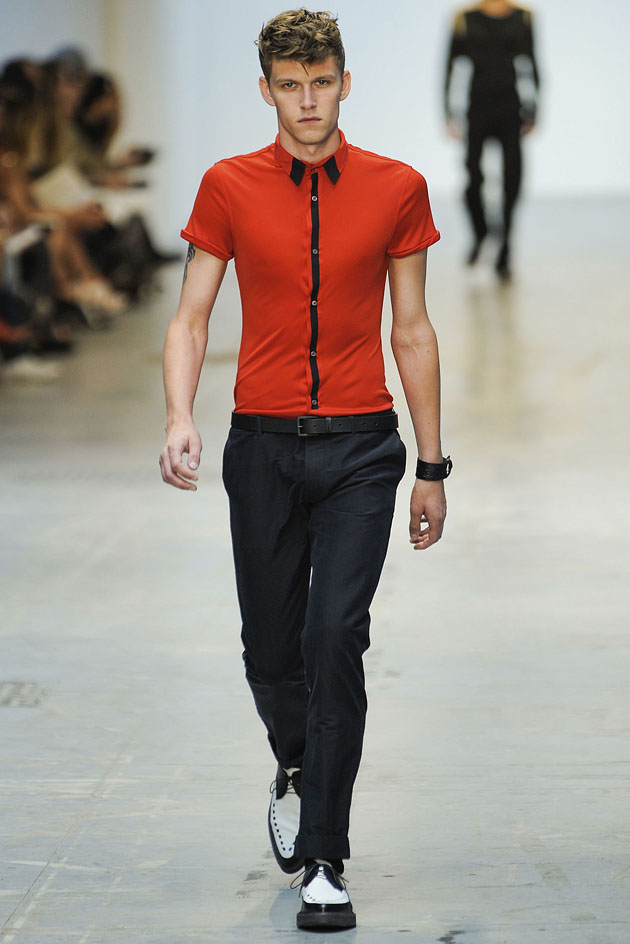 Costume National Homme SS 2012