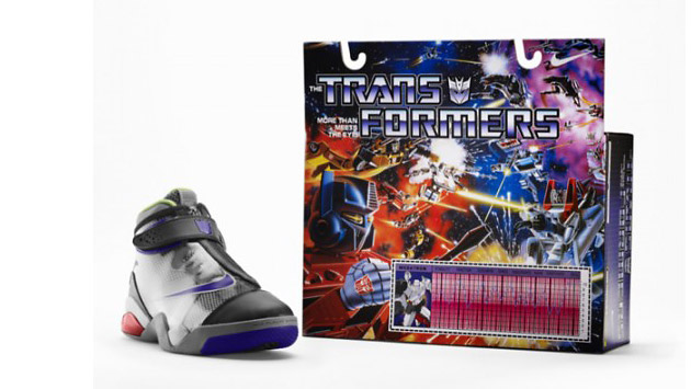 Nike Limited Edition Transformers Basketball Shoe Collection, Nike, Transformers, обувь, спортивная обувь