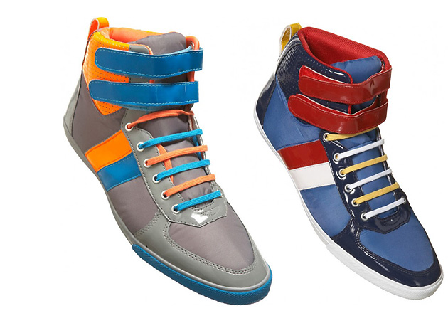 обувь, кеды, Topman, Topman Multicolored Basketball Boots