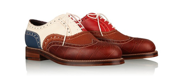 ботинки, обувь, Grenson's, Grenson's Multi-colored Brogue