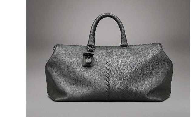 Bottega Veneta Camp Nero Toro Brick Bag