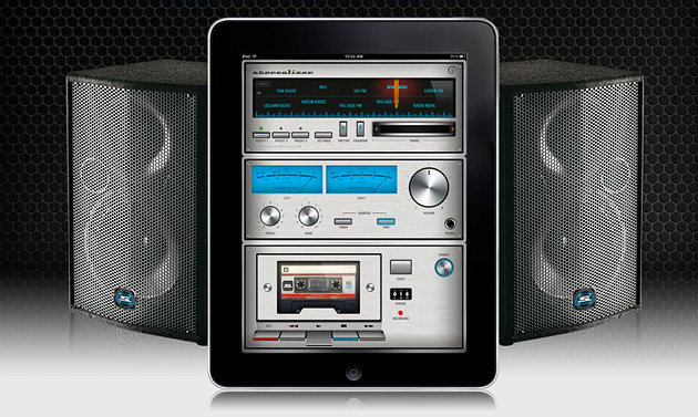 iPad Stereolizer App