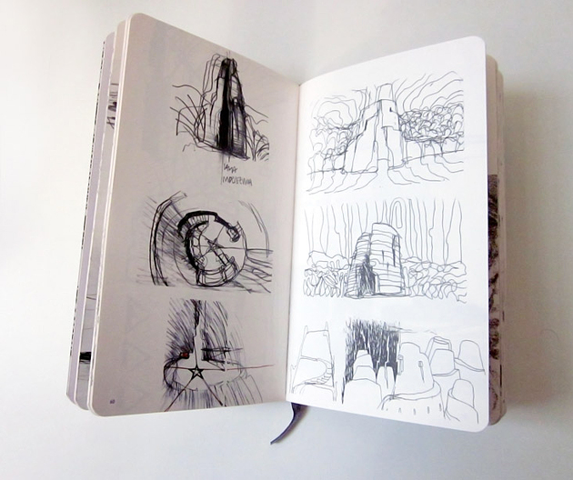 Moleskine Architecture Book Series. Альберто Калач