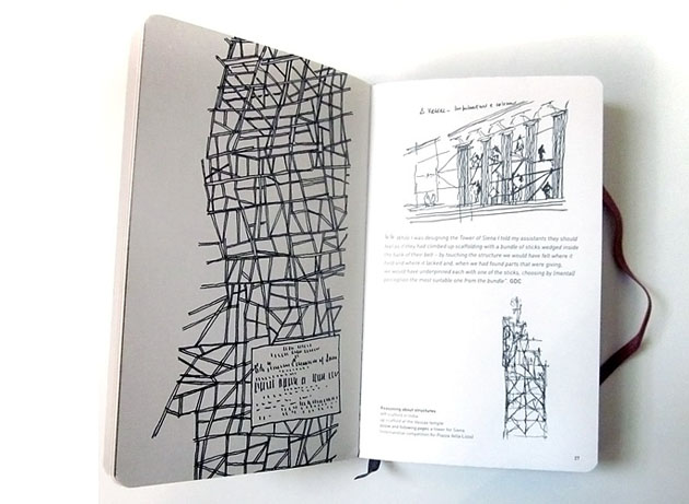 Moleskine Architecture Book Series. Джанкарло де Карло