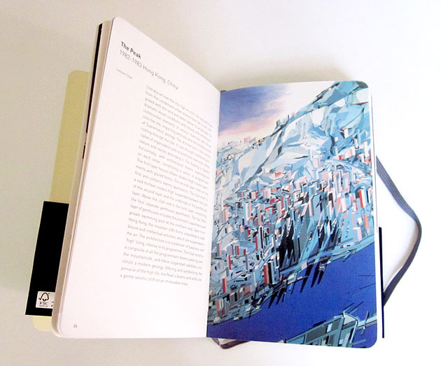 Moleskine Architecture Book Series. Заха Хадид