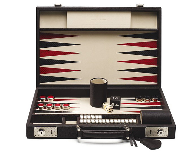 игры, развлечения, нарды, Bamford & Sons, Bamford & Sons Backgammon Limited Edition