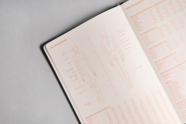 Блокноты для дизайнера одежды