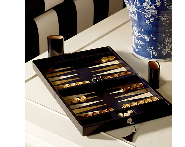 Ralph Lauren Swinford Backgammon Set