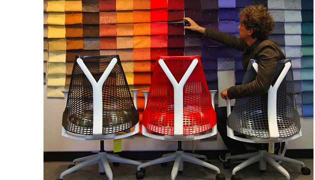Ив Бехар (Yves Behar), Herman Miller Sayl Chair